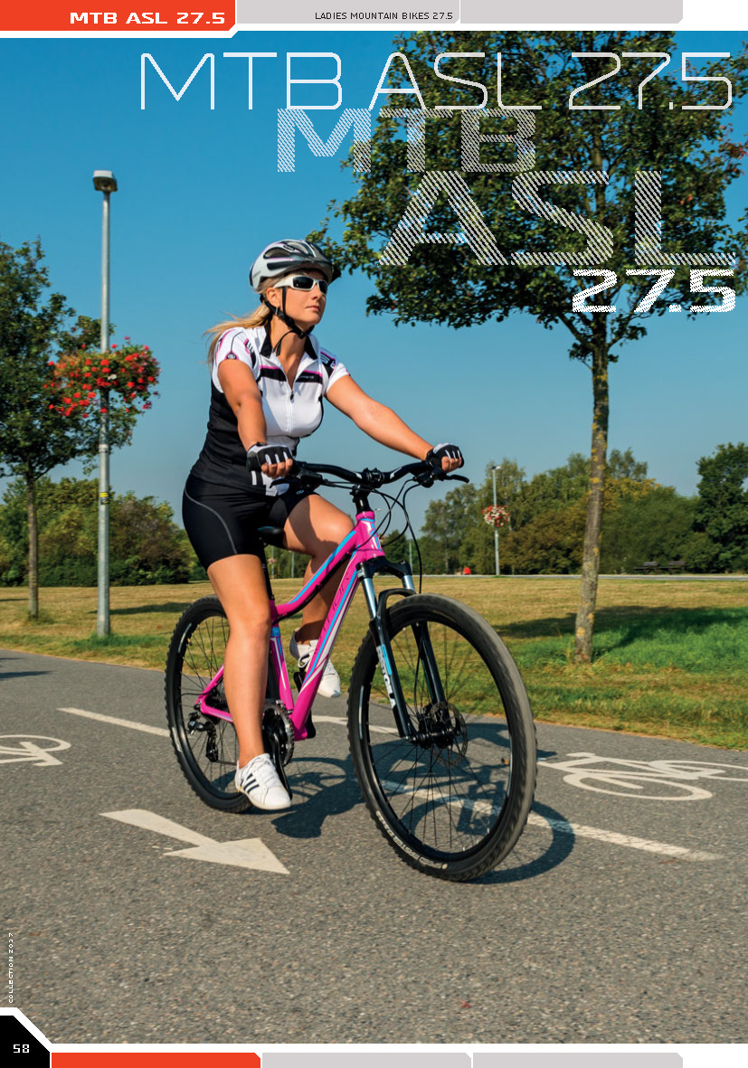 MTB ASL 27.5 - ladies mountain bikes 27.5