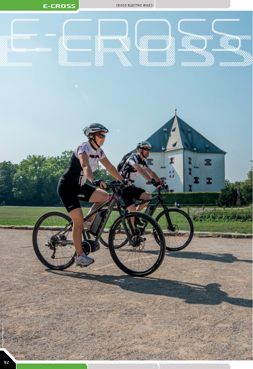 E-CROSS - cross electric bikes