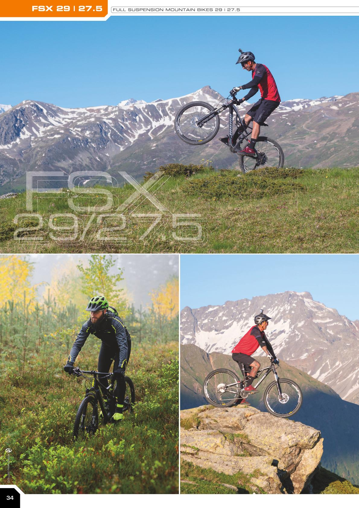 FSX 29 | 27.5 - full suspension mountain bikes 29 / 27.5