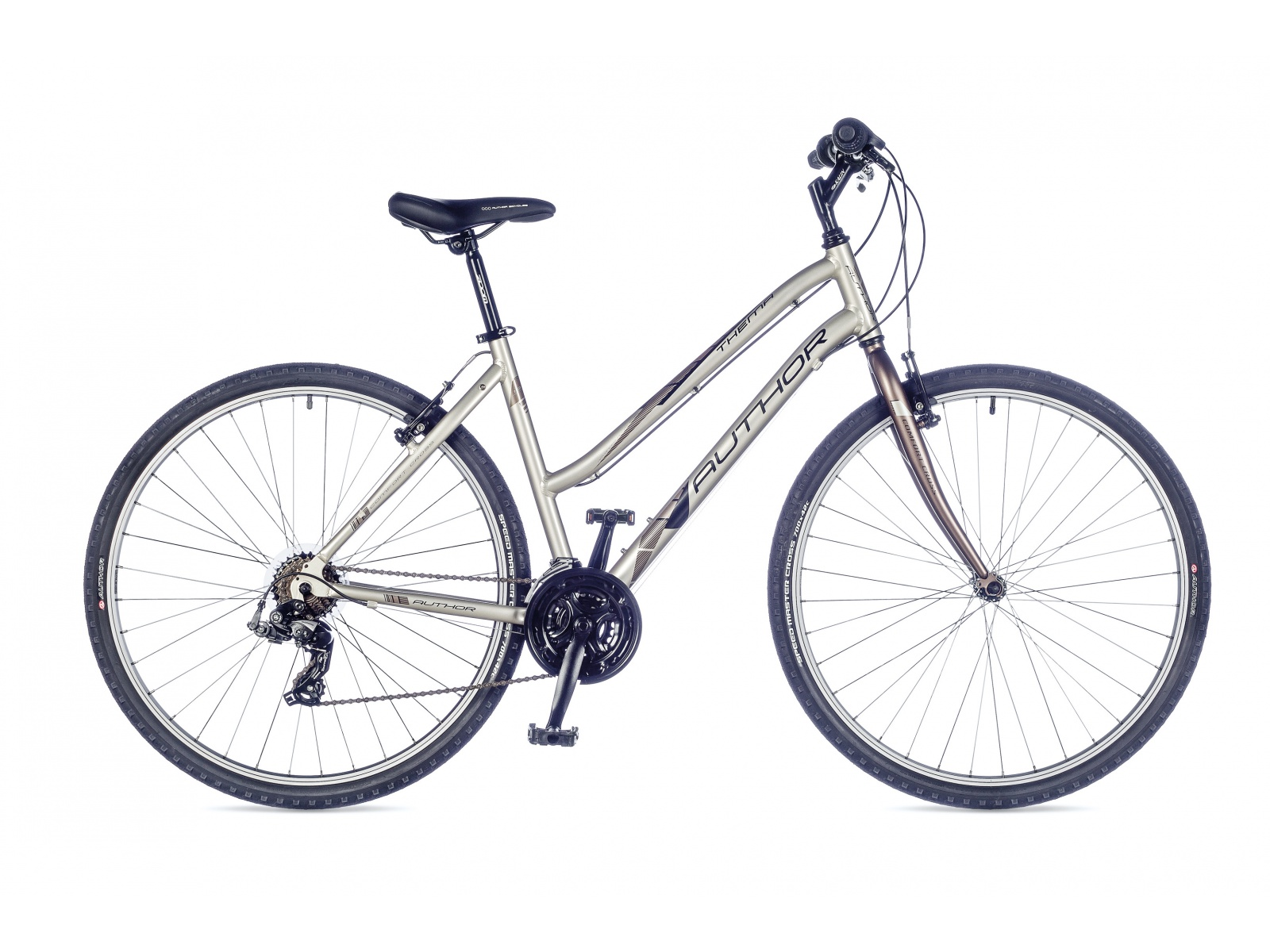 Author Thema 2016 Design Alloy Frame With Lower Upper Tube